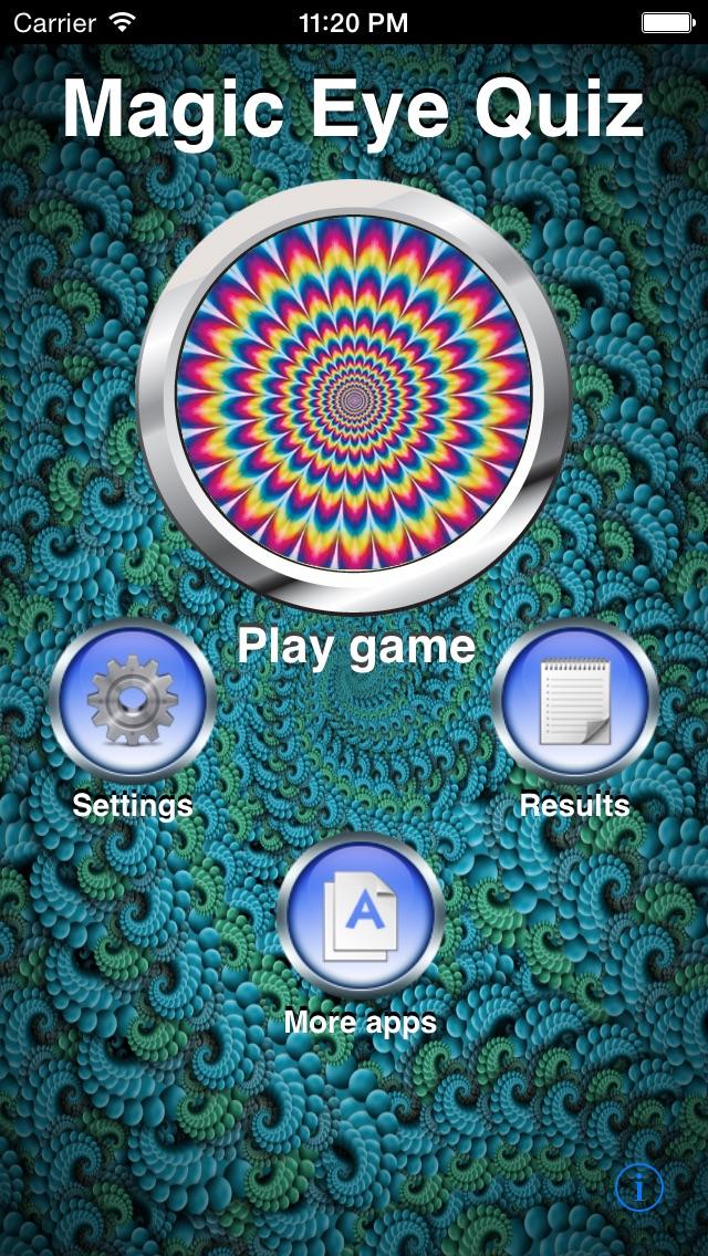 Magic Eye Stereogram Quiz review screenshots