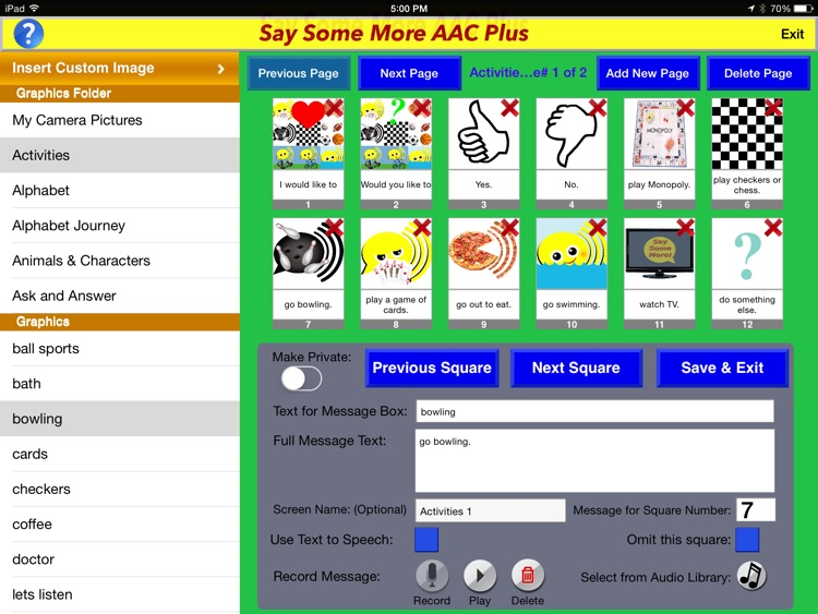 Say Some More AAC Plus screenshot-4