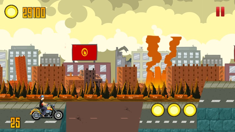 A Flying Bike from Hell – High Speed Motorcycle Adventure Race on the Streets of Danger