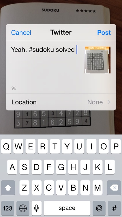 Sudoku Solver Camera screenshot-4