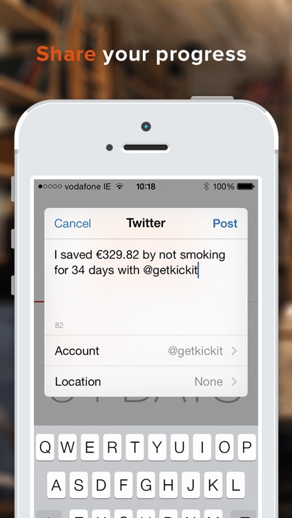 kickit 2 - Quit Smoking, Incentivized screenshot-2