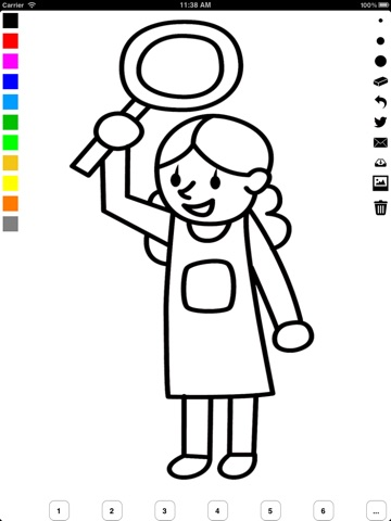 Family Coloring Book for Children: Learn to draw and color parents ...