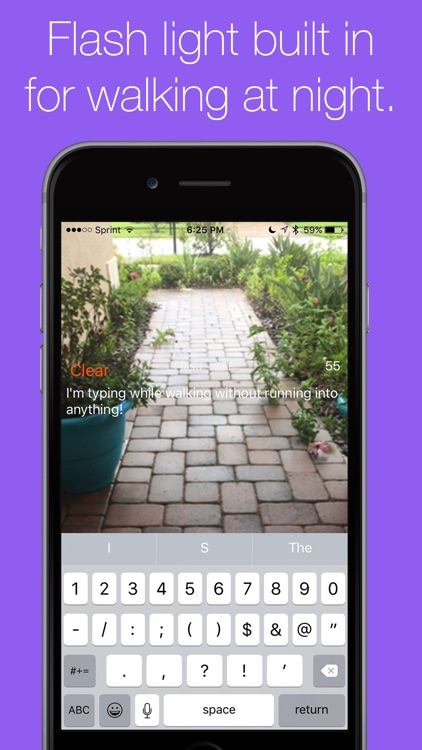 Walky Talky - Walk while you type and not run into anything! screenshot-3