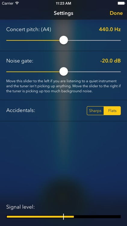 TurboTuner - Chromatic Tuner for Guitar, Bass and more