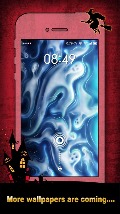 Halloween Wallpapers & Backgrounds HD - Home Screen Maker with Pumpkin, Scary, Ghost Images screenshot-4