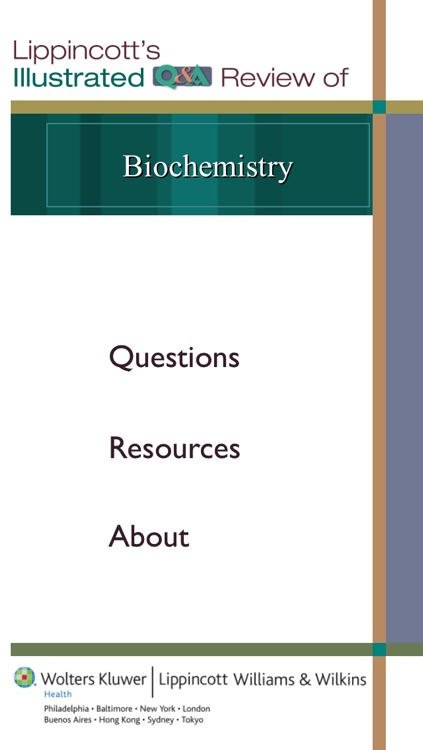 Biochemistry Lippincott's Illustrated Q&A Review