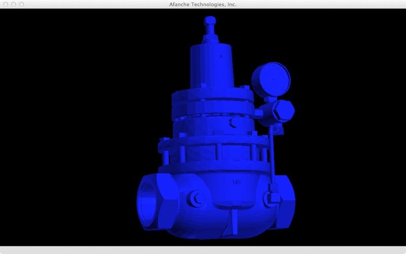 STEP Viewer 3D скриншот программы 1