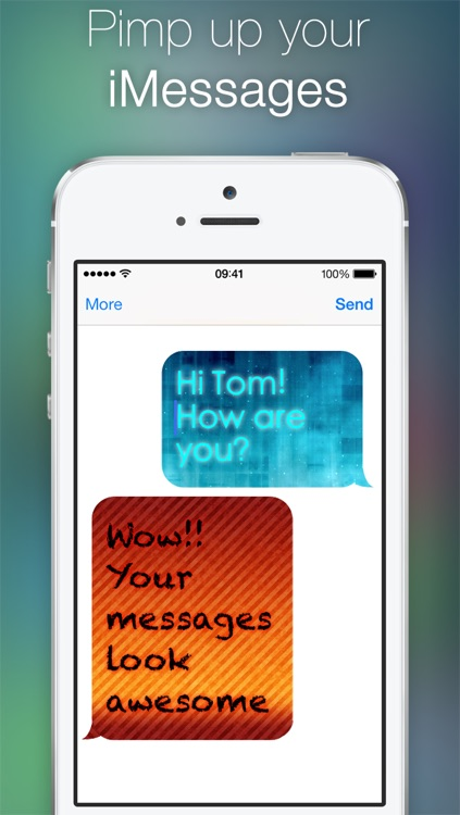 Color Text Messages for iMessage
