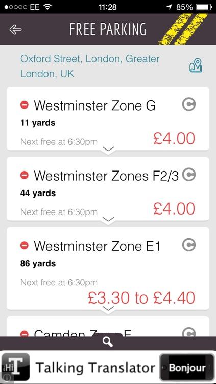 Free Parking Lite screenshot-3