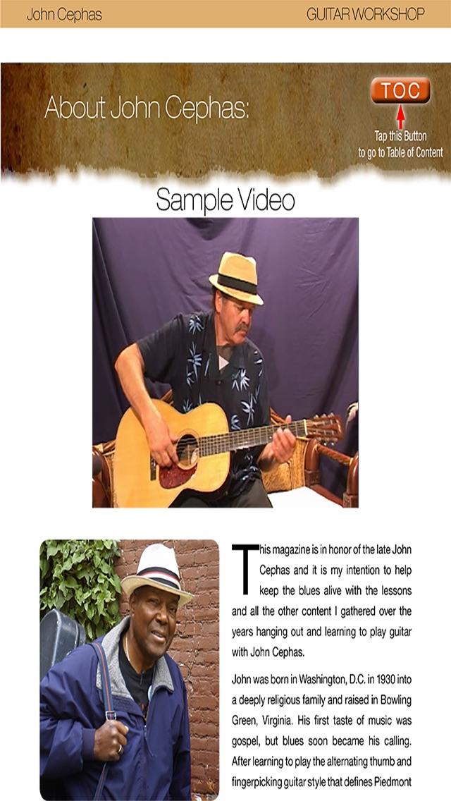 Guitar Workshop Magazine Screenshot