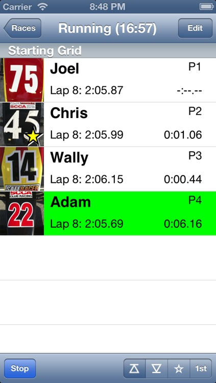 RaceTimer+ screenshot-0