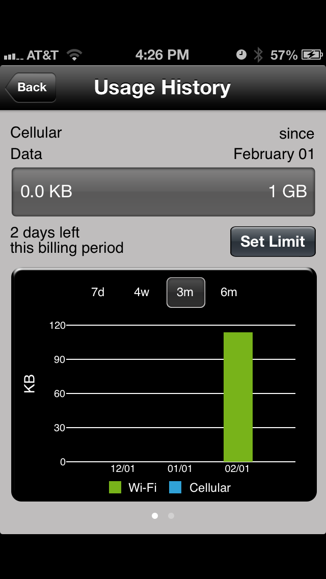 Etisalat eWifi screenshot three