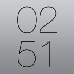 Ícone do app Work Time HD - Relógio de mesa elegante para iPad, com calendário, tempo, evento, horário, planejador, clock, calendar, weather