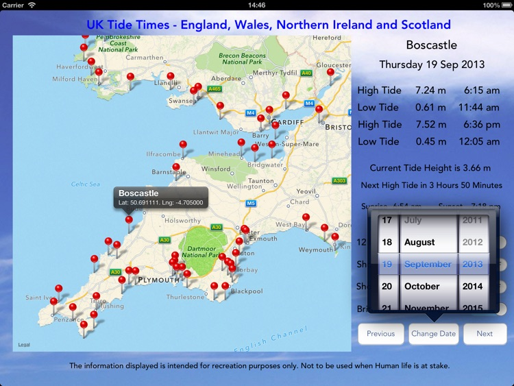 UK Tide Times Pro screenshot-2