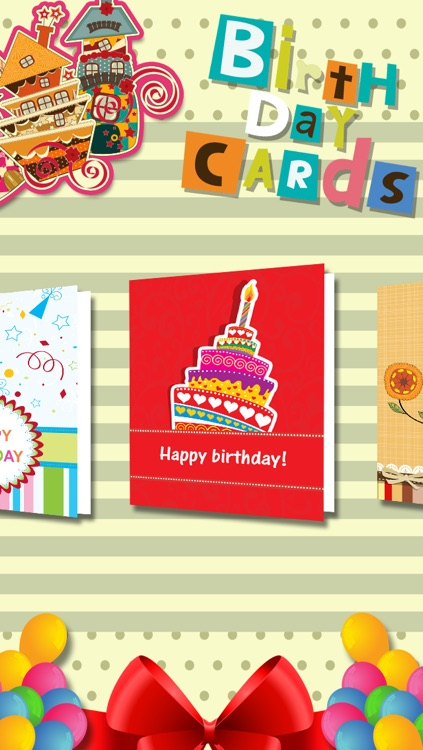 Birthday Cards And Reminder For Facebook Screenshot 1