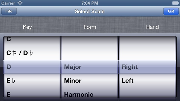 Visual Piano Scales screenshot-2