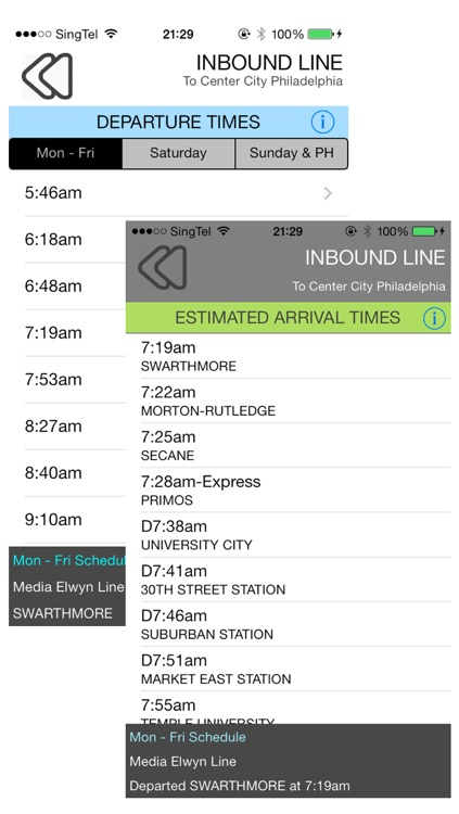 SEPTA Regional Rail screenshot-2