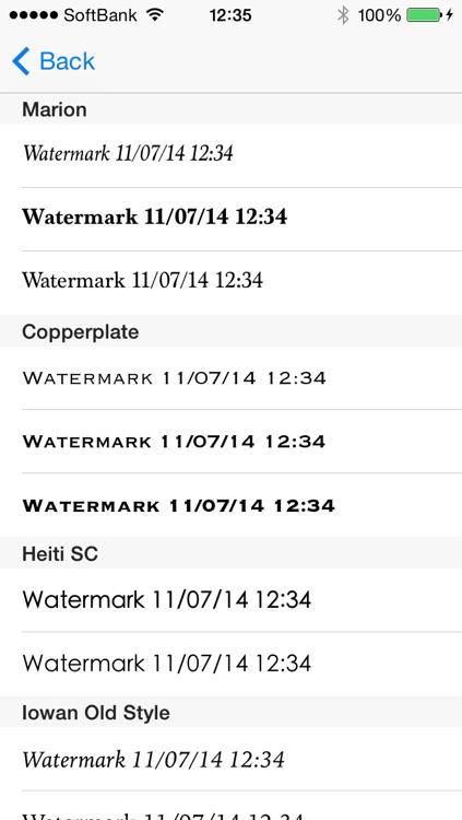 Easy Watermark Camera screenshot-3