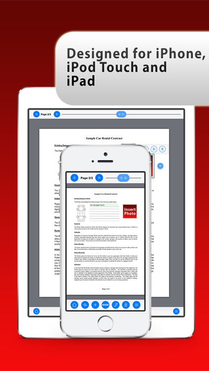 PDF Tools Professional - View, Read, Open, Edit, Export, Annotate, Sign and Fill Form Documents and Contracts screenshot-4