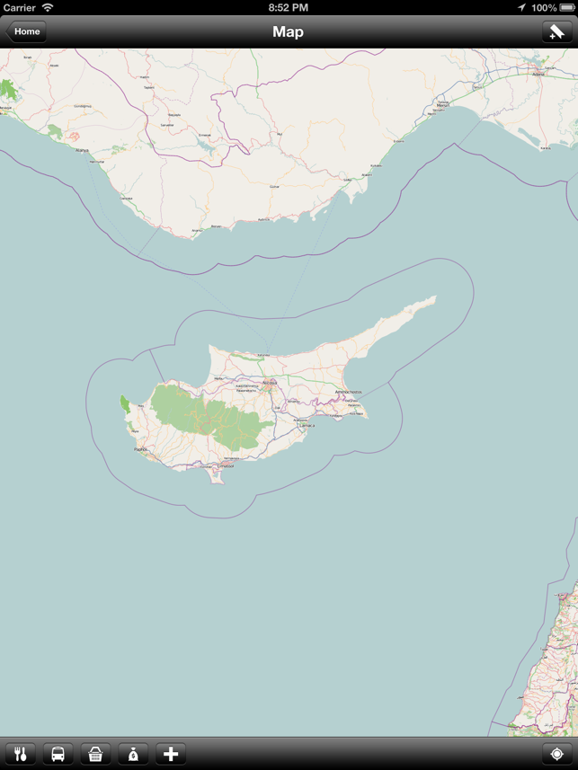 Offline Cyprus Map World Offline