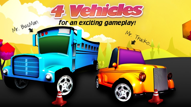 Troll Car Parking (Cartoon 3D) Free