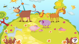 活躍的兒童遊戲2-5歲左右的農場的動物: 學習 幼兒園,學前班或幼兒園屏幕截圖1