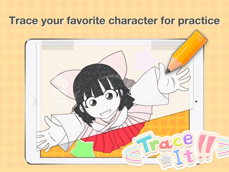 Trace It! - Trace Your Favorite Character screenshot-0
