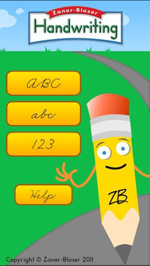 Zaner bloser handwriting apps for free