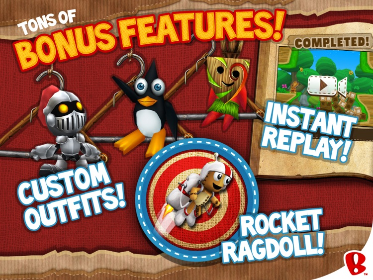 Ragdoll Blaster 3 HD screenshot-4