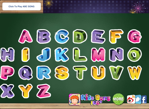 ABC Song - Alphabet Song with Action & Touch Sound Effect | App