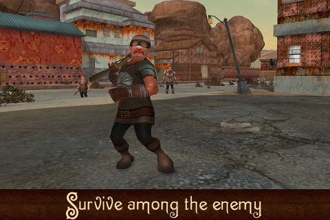 Rusty Desert Survival 3D Full screenshot 4