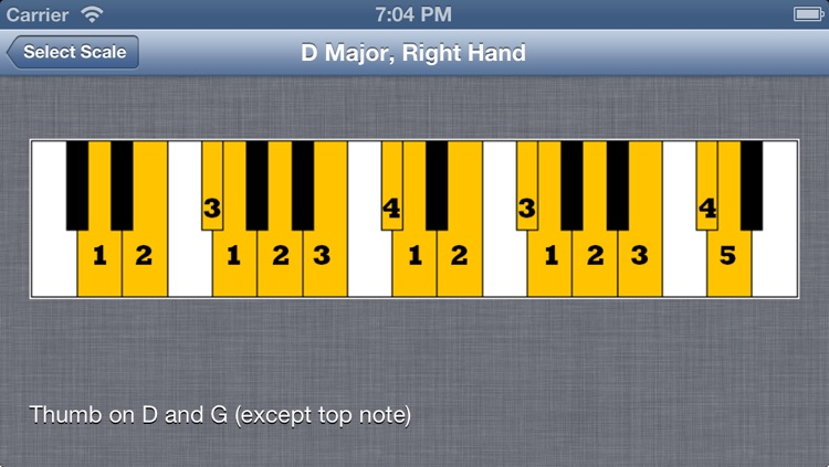 Visual Piano Scales
