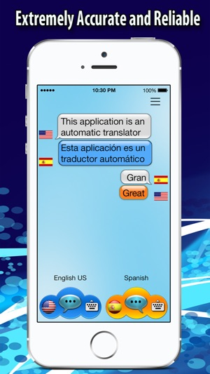 Voice Translator - On the Fly Translation Screenshot
