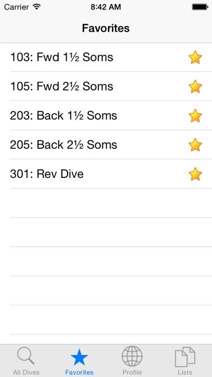 Dive List screenshot-3