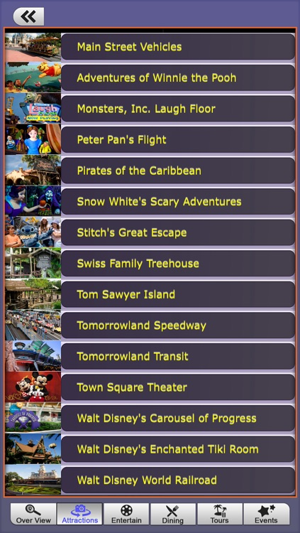 Offline Travel Guide Disney World screenshot-2