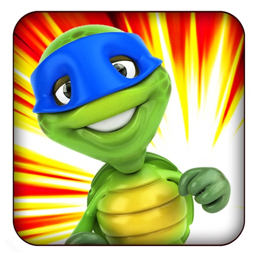 A Turtle Ninja Run 3D - Cool Kids Fun For Boys & Girls Free iOS App