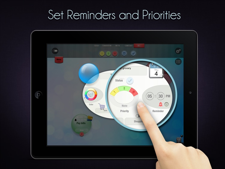 fun to-do for iPad - Daily To Do List & Task Manager screenshot-3