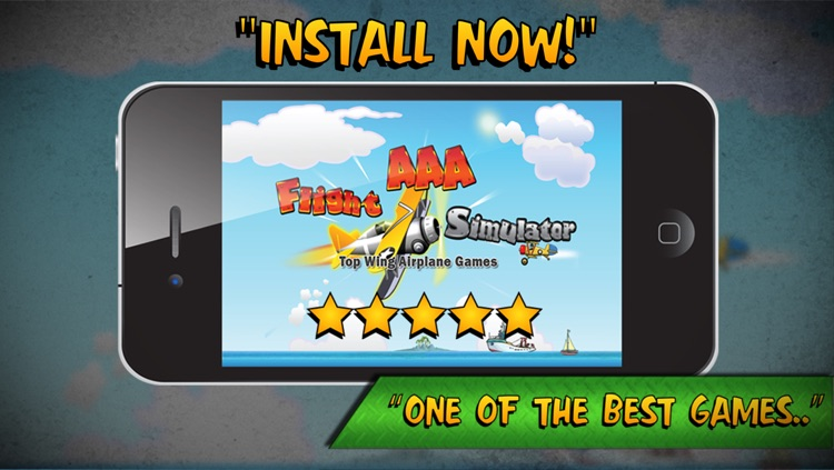 Flight Simulator Top Wing Airplane Games - by the AAA Team screenshot-4