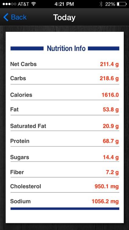 Diabetes App - blood sugar control, glucose tracker and carb counter screenshot-3
