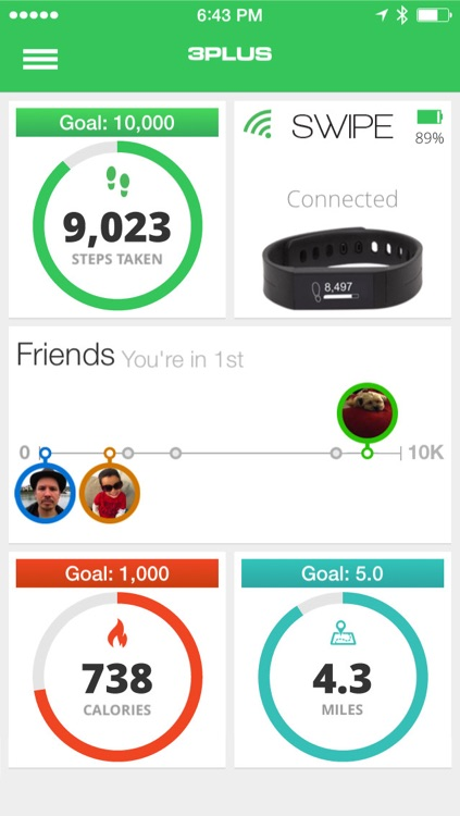 3Plus Activity Tracker