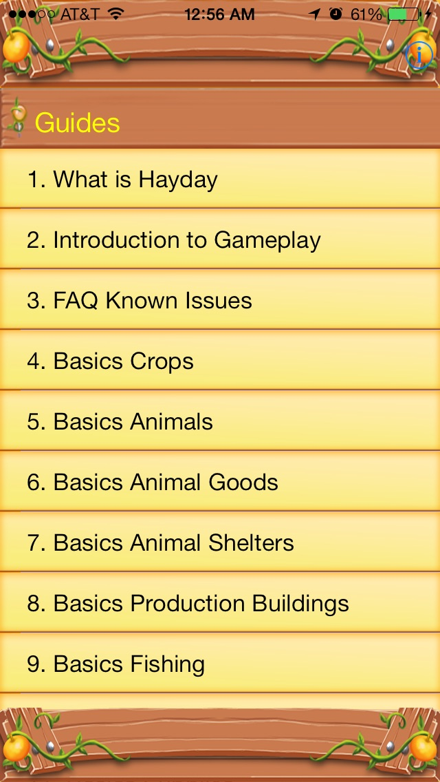 Guide for Hay Day! Screenshot on iOS