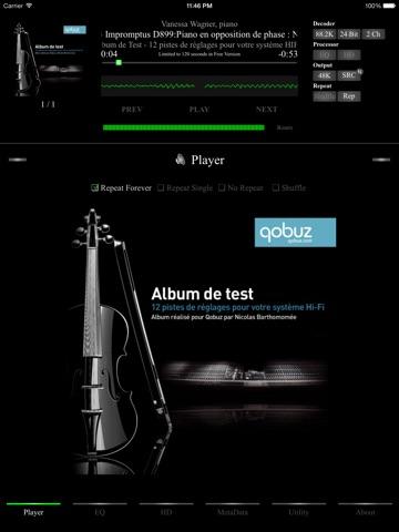 AmpliFlac Free - HD Flac Player-ipad-0