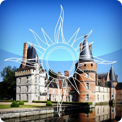Visite officielle du château de Maintenon