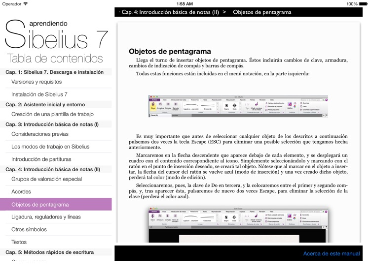 Aprendiendo Sibelius 7 screenshot-0