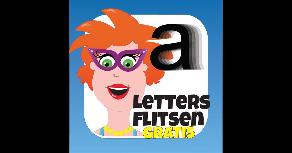 Letters flitsen voor kinderen - Juf Jannie on the App Store