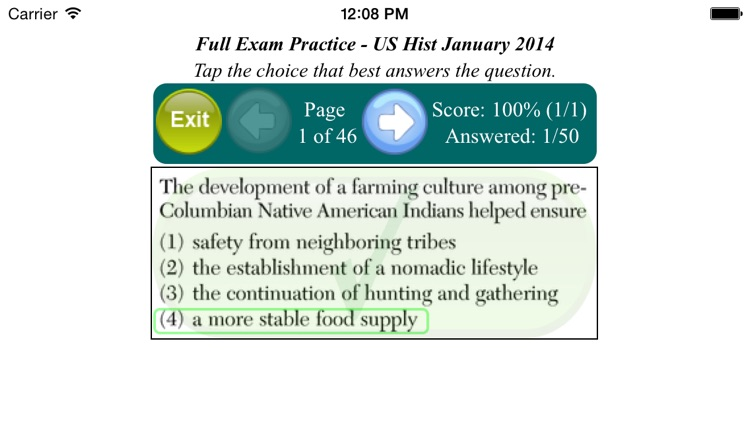 U.S. History Regents screenshot-2