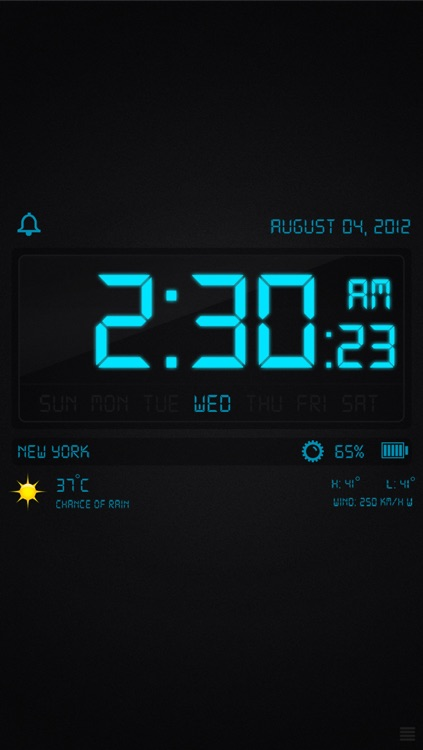 Alarm Clock! - With Instant Light screenshot-0