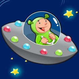 Space learning game for children age 2-5: Train your skills for kindergarten, preschool or nursery school