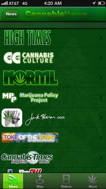 Cannabis News Pro screenshot-1