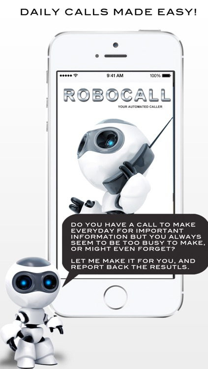 RoboCall - Automated Calling screenshot-0